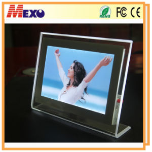 Table-Top Crystal Photo Frame with Magnetic Face pictures & photos