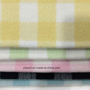 Check Napping Wool Fabric for Overcoat pictures & photos
