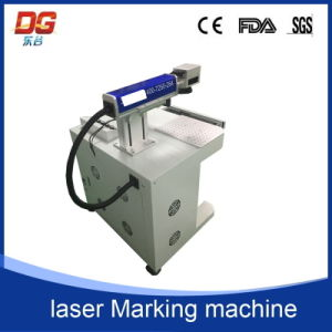 Good Quality Desktop Type Fiber Laser Marking Machine pictures & photos