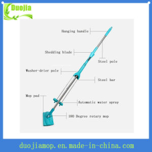 Easy Disposable Microfiber Mop Refills Flat Mop pictures & photos