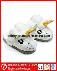 Plush Soft Antelope Slipper Toy for Winter Gift