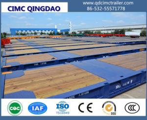 Cimc 20FT/40FT/45FT/62FT Roro Trailer for Port Use Truck Chassis pictures & photos