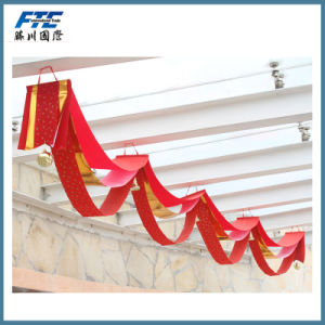 Wave Flag Hanging Flag Wholesale for Christmas Decoration pictures & photos