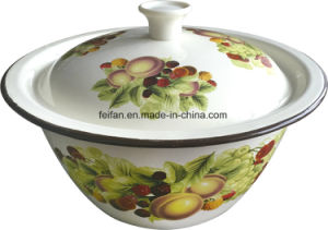 Thickening Enamel Wash Bowl for Daily Use pictures & photos