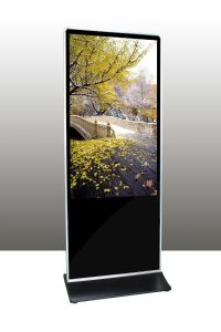55-Inch Floor Stand IR Touch Monitor/Display/Screen for Banks, Finance, Hotel pictures & photos