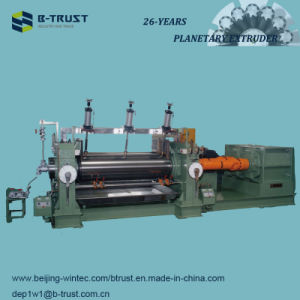 5 Roll PVC Calendering/Calender Line with Planetary Extruder pictures & photos