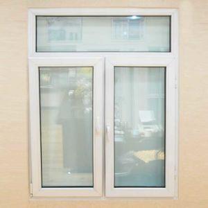 Energy Saving Double Plastic UPVC Casement Glass Window PVC Window pictures & photos