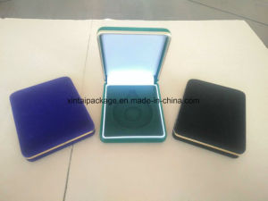 Factory Wholesale Flock Jewelry Box pictures & photos