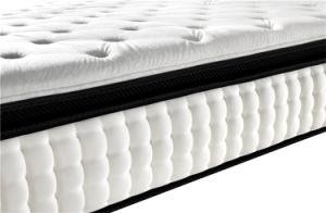 Cheap But Comfortable Pillow Topper Bonnel Spring Mattress pictures & photos