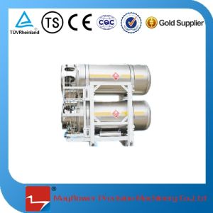 LNG Cryogenic Thermal Insulating Gas Cylinder (450L*2) pictures & photos