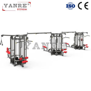 Multi- Gym 3 Station / 6 Functions Commercial Gym Fitness Equipment Multifunction Integrated Combination pictures & photos