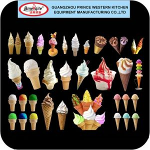 Prince Precooling Air Pump Ice Cream Machine Soft Serve with Mq-L32b pictures & photos
