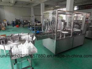 Automatic Filling with Stopper and Capping Machine pictures & photos