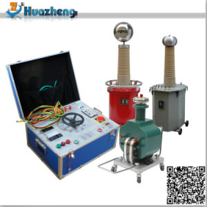 Factory Price Cable AC/DC High Voltage Withstand Hipot Test Set pictures & photos