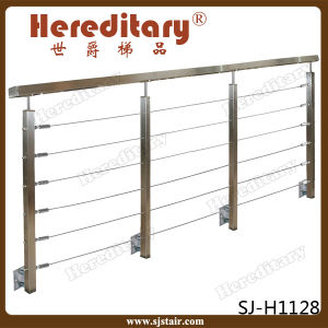 Side Mount Stainless Steel Baluster for Balcony (SJ-H1204) pictures & photos