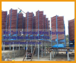 Spiral Gravity Gold Separator Washing Plant pictures & photos