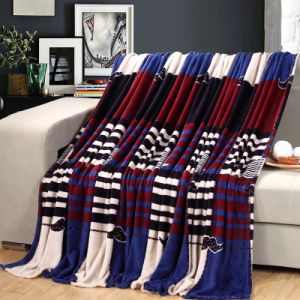 Factory Cheap Flannel Fleece Blanket in Bulk pictures & photos