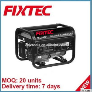 Fixtec Portable High Quality Electric Star Gasoline Generator pictures & photos