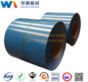 Prepainted Gi Steel Coil or PPGI or Color Coated Galvanized Steel Sheet Metal Standard Sheet Size in Coil From China pictures & photos