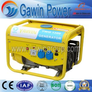 4-Strok, Single Cylinder Air-Cooled Gasoline Generator 1.2kw pictures & photos
