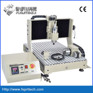 Jade Engraving Machine Flat Bed CNC Lathe pictures & photos