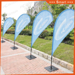4PCS Custom Teardrop Feather Flag for Outdoor or Event Advertising pictures & photos