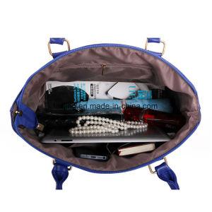 Women Bag PU Leather Handbag Shoulder Message Bag Purse 5-PCS pictures & photos