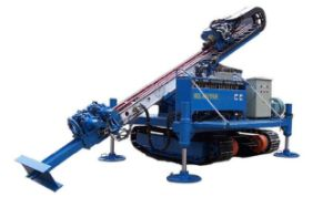 Full Hydraulic Crawler Mounted Anchor Drilling Rig for Foundation Construction pictures & photos