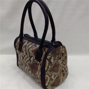 Fashion Imitation Snake Skin Women Handbag pictures & photos