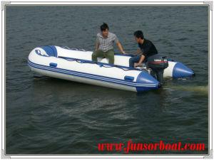 Aluminum Deck Inflatable Marine Boat (FWS-D430) pictures & photos