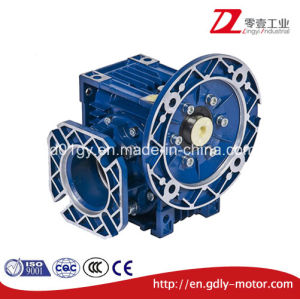 Aluminium Nmrv Worm Gear Box with Output Flange pictures & photos