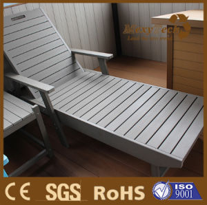 Foshan Poly Styrene Beach Wooden Deck Chairs pictures & photos