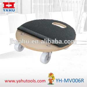 Anti Slip Round Dolly Truck Platform Removals Trolley (YH-MV006R) pictures & photos