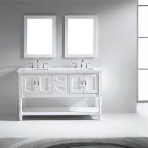 72 Inch 5 Star Hotel Double Sink Bathroom Vanity pictures & photos
