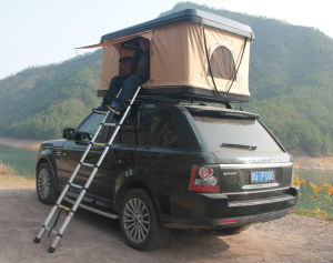 2017 High Quality Littel Rock Hard Shell Camping Car Rooftop Tent pictures & photos