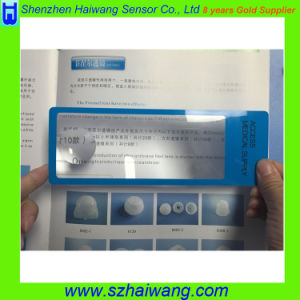 Promotion Logo Customized PVC Card Magnifier (HW-812) pictures & photos