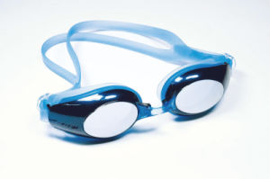Metallic Painting Frame Mirrored Lenses Training Goggles pictures & photos