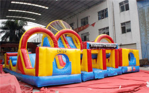 Adventure Rush Inflatable Obstacle Course Chob468 pictures & photos