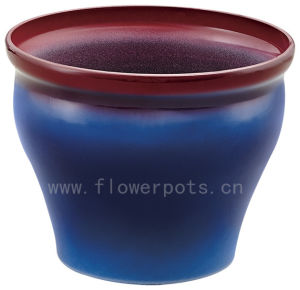 Shiny Finish Decoration Flower Pot (KD9461-KD9462) pictures & photos