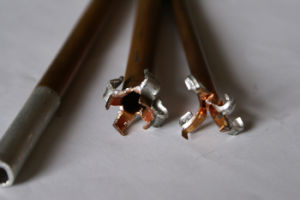 Copper and Aluminium Tube Butt Welding pictures & photos