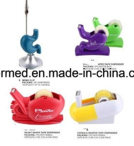 Pharma Promotional Pill Stomach Heart Shaped Tape Dispenser pictures & photos