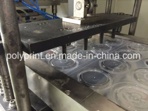 Plastic Flat Lid Dome Lid Coffee Lid Forming Machine pictures & photos