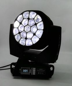 19X15W LED Bee Eyes Moving Head Light Zoom Wash Light pictures & photos