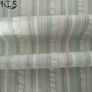 Cotton Woven Seersucker Yarn Dyed Fabric for Shirts/Dress Rls50-22se pictures & photos