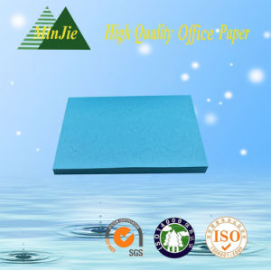 Light Blue Embossing Cardboard Paper for Gift Packings pictures & photos
