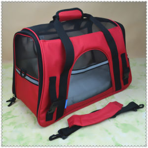 Pet Carrier Oxford Portable Cat Dog Comfort Travel Carry Shoulder Bag Portable Pet Carrier Bag pictures & photos