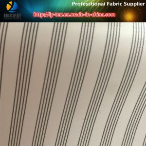 Orange Line High Quality Polyester Woven Stripe Fabric for Women Garment (S142.143) pictures & photos