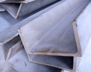 Hot Rolled Galvanized U Shaped Iron Steel Channel with Cold Forming Type pictures & photos