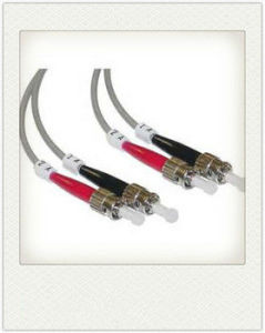 High Quality St to St Multi-Mode Optical Fiber Jumper pictures & photos