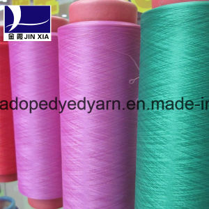 Dope Dyed DTY 1000d/144f Polyetser Filament Yarn pictures & photos